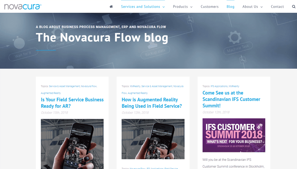 novacura flow blog