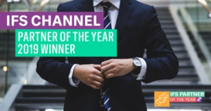 Named IFS Channel Partner of the year 2019