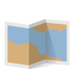 icon of a map to show mobility